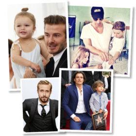 Daddy cool: Αυτοί είναι οι 10 πιο γοητευτικοί μπαμπάδες της showbiz