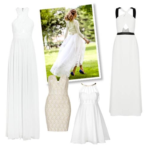 Παντρεύεστε  Τα ωραιότερα φορέματα που μπορείτε να φορέσετε αντί ... 93de5de86d2