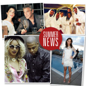 Summer news: Τι πρέπει να ξέρουμε σήμερα από τον θαυμαστό κόσμο των celebrities