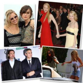 BFFs: Οι Χολυγουντιανοί celebrities που είναι αυτοκόλλητοι