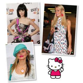 Με αφορμή την είδηση ότι η Hello Kitty δεν είναι γάτα, θυμόμαστε celebrities που την έχουν «φορέσει»