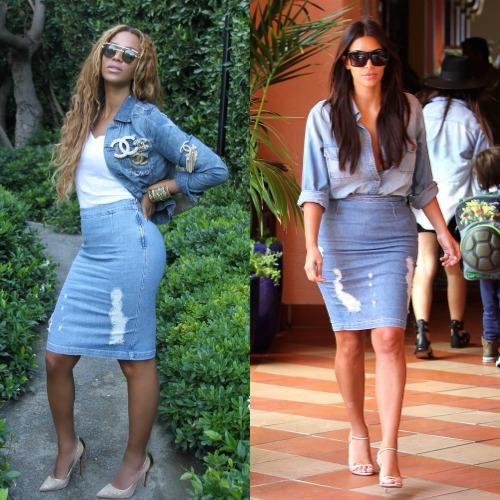 Ποιος είπε ότι τα στενά ρούχα δεν είναι κατάλληλα για τις γυναίκες που  έχουν καμπύλες  Δύο από τις πιο διάσημες κυρίες του κόσμου μας αποδεικνύουν  το ... 137a939c67f