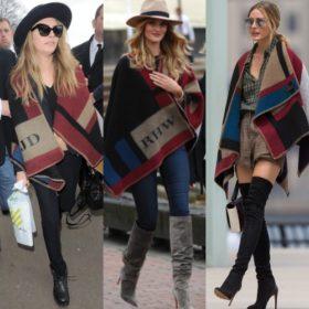 Γιατί τα fashion icons φοράνε κουβέρτες;
