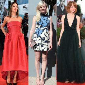 Φεστιβάλ Βενετίας: Δείτε τι φόρεσαν οι celebrities που έδωσαν το παρών