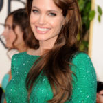 ANGELINA JOLIE 2011 68th Annual Golden Globe Awards