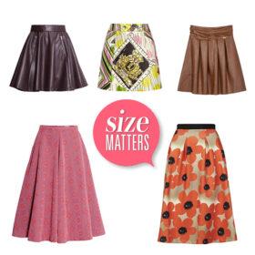 Shopping guide: Δέκα φούστες για εσάς που θέλετε να κρύψετε τους επιπλέον πόντους στην περιφέρεια