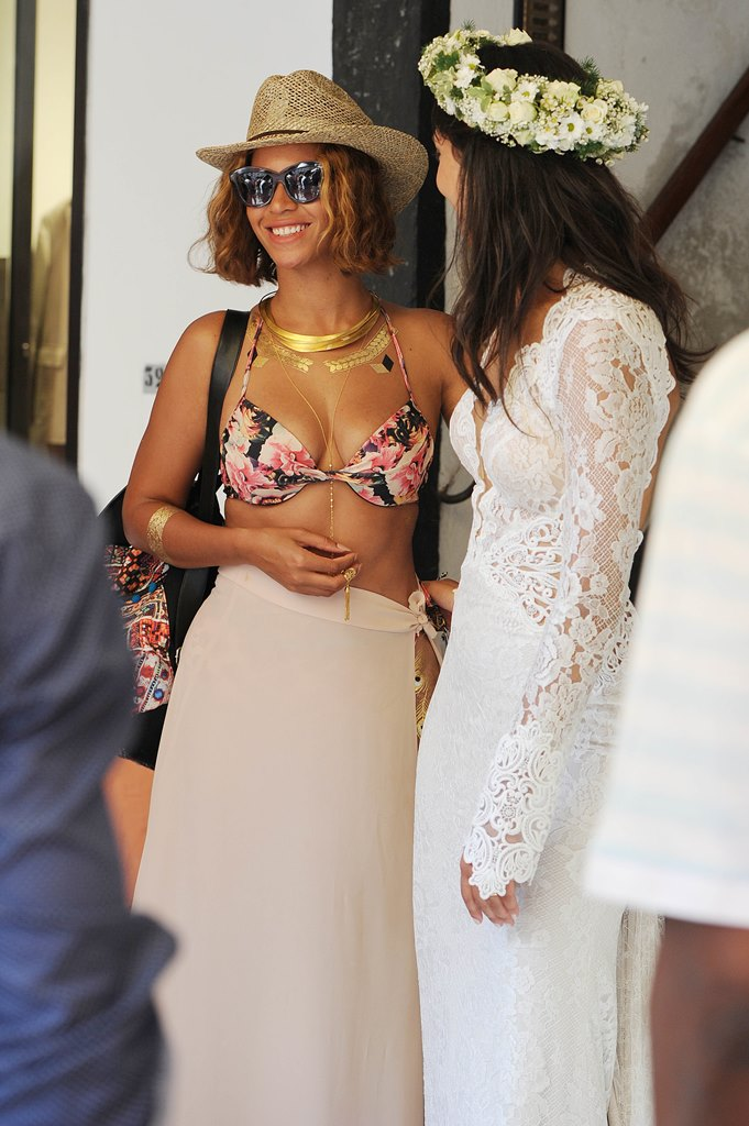 Beyonce and Jay Z on holiday in Portofino, Italy.