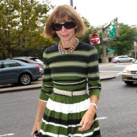 Τι δε θα φορούσε ποτέ η Anna Wintour;