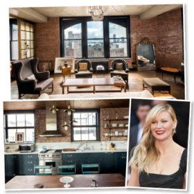 Δείτε το απίστευτο διαμέρισμα της Kirsten Dunst στο SoHo της Νέας Υόρκης