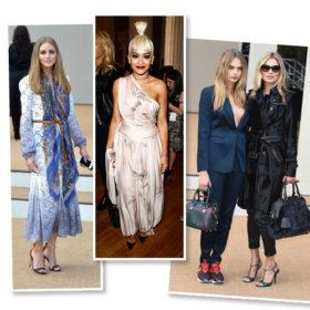 London Fashion Week: Δείτε όλες τις διάσημες που φωτογραφήθηκαν στη front row των shows