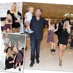 Jessica Simpson: Στο fashion show της μαζί με την οικογένειά της