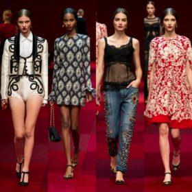 Dolce&Gabbana: Όλες οι λεπτομέρειες για την τελευταία τους συλλογή