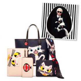 Karl Lagerfeld: Ακόμη μία συλλογή εμπνευσμένη από τη γάτα του