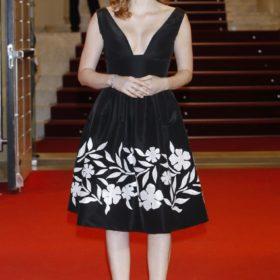 Η Jessica Chastain με Oscar de la Renta
