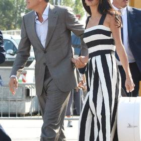 George Clooney: Η πρώτη δημόσια εμφάνιση μετά το γάμο του