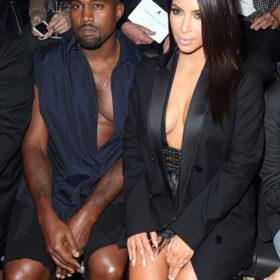 Kim Kardashian – Kanye West: Με ασορτί ντύσιμο στο show του οίκου Lanvin