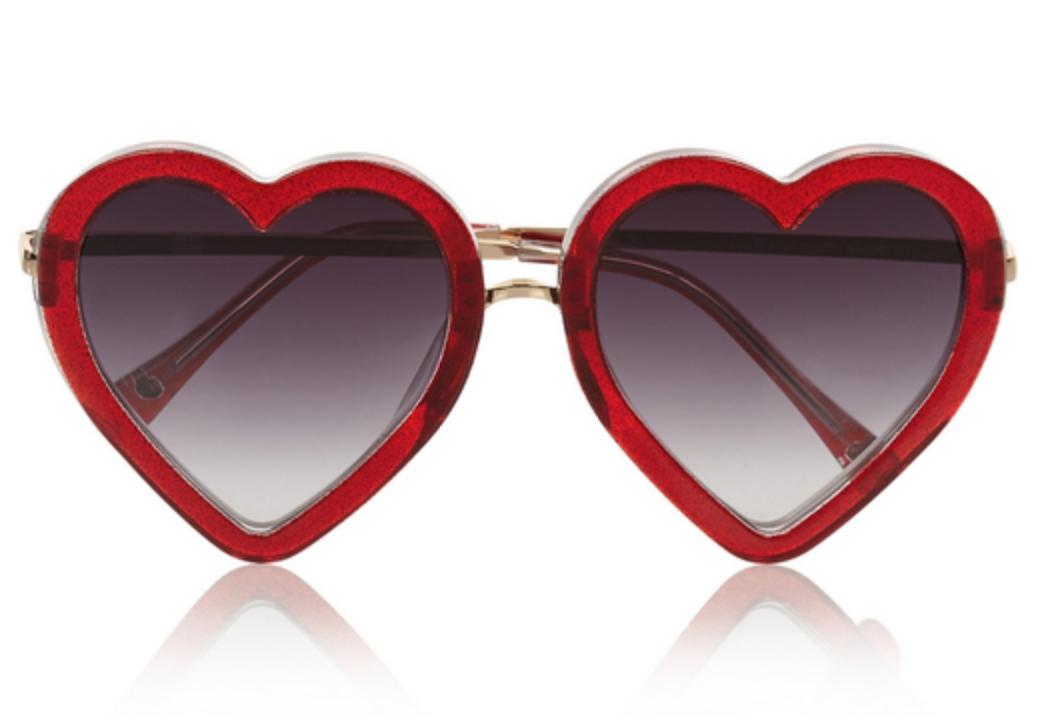 markus-lupfer-heart-frame-glittered-acetate-sunglasses