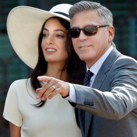 George Clooney- Amal Alamuddin: Νέο πάρτι για τον γάμο τους στην Βρετανία