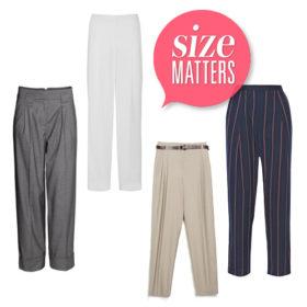Size Matters: Βρήκαμε τα ωραιότερα παντελόνια που θα κάνουν τα πόδια σας να φαίνονται πιο ψηλά