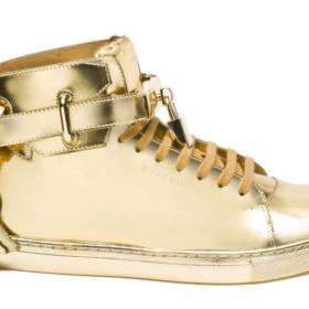 Εσείς θα φορούσατε χρυσά παπούτσια πολλών καρατίων;