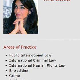 Είναι επίσημο: Η Amal Alamuddin συστήνεται πλέον ως κυρία Clooney