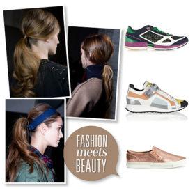 Fashion meets beauty: Συνδυάσαμε τα αγαπημένα μας sneakers με τις πιο stylish αλογοουρές