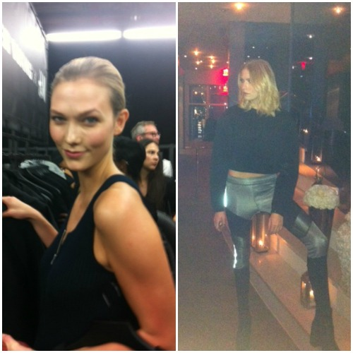 alexander wangx H&M, new york, eye witness, empeiria, karlie kloss