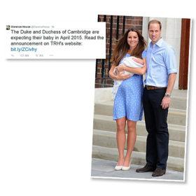 Kate Middleton: Ανακοινώθηκε ο μήνας που θα καλωσορίσει το δεύτερο παιδί της