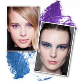Χρωματιστό φθινόπωρο: Τα πιο χρωματιστά μακιγιάζ ματιών που είδαμε στις πασαρέλες
