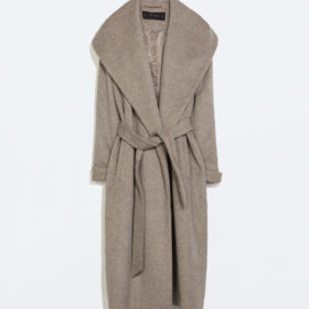 Editor' s choice: Το μάλλινο παλτό Zara