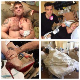 Robbie Williams: Έγινε πατέρας για δεύτερη φορά και μοιράστηκε όλη τη διαδικασία στο Twitter