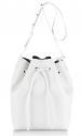 mansur gavriel white bag