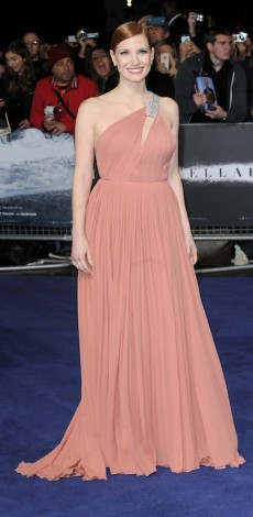 'Interstellar' European Premiere, London, jessica chastain