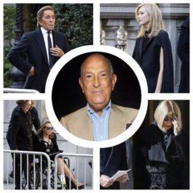 Oscar de la Renta: Η ελίτ της μόδας στην κηδεία του μεγάλου σχεδιαστή