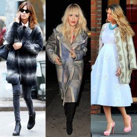 Φορέστε τα πιο ιδιαίτερα παλτό όπως οι αγαπημένες σας celebrities