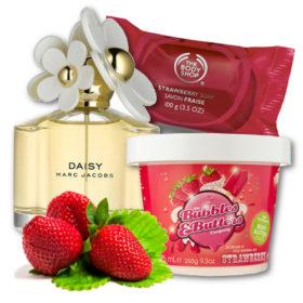 Yum! Προϊόντα που μυρίζουν λαχταριστές φράουλες