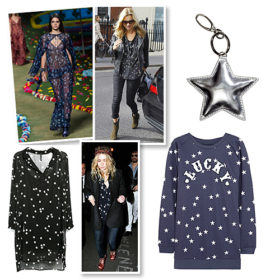 Shopping guide: Τα αστέρια διακοσμούν τα ρούχα και τα αξεσουάρ σας