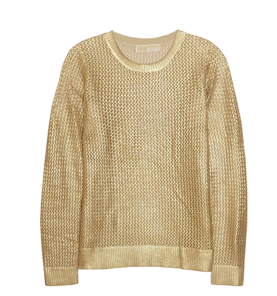 michael-michael-kors-metallic-cotton-blend-sweater