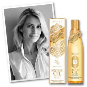 Match made in heaven: H Dear Charlotte σχεδιάζει για το Mythic Oil της L'Oréal Professionnel