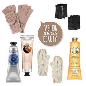 Fashion meets beauty: Προστατέψτε τα χέρια σας από το κρύο με τα ωραιότερα γάντια και τις πιο ενυδατικές κρέμες