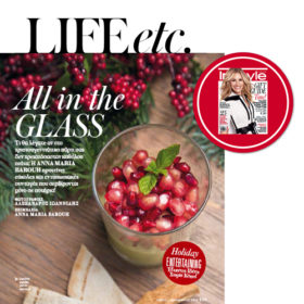 All in the glass: Η Άννα Μαρία Μπαρού προτείνει εύκολες συνταγές στο ποτήρι