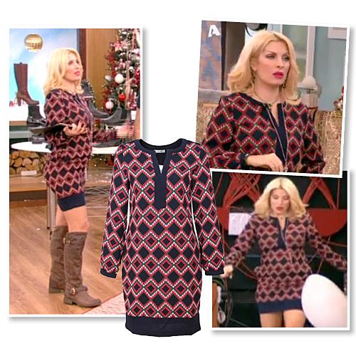 15e9bb055ae9 Η Ελένη Μενεγάκη είναι πάντα άψογα ντυμένη επιλέγοντας μαζί με τη  στιλίστριά της Τζώρτζιας Συναχερή, τα ωραιότερα outfits που δεν κοστίζουν  απαραίτητα μια ...