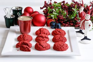 red velvet cookies, barouh