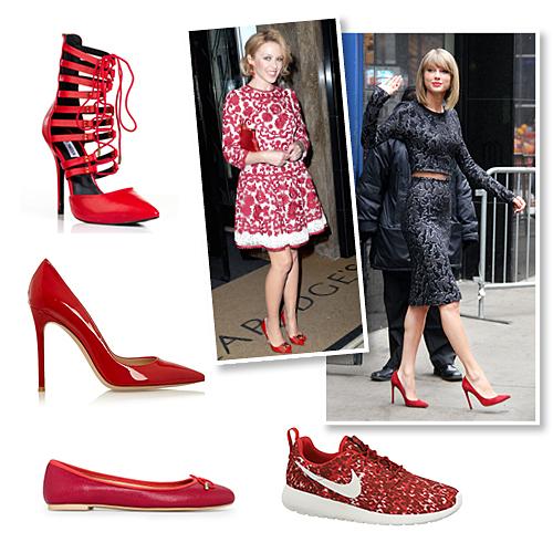 98db28c8d82 Festive shopping: Αγοράστε τα ωραιότερα κόκκινα παπούτσια - Μόδα ...