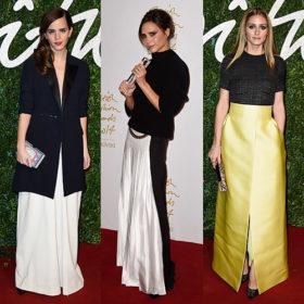 British Fashion Awards: Δείτε όλες τις εμφανίσεις από το κόκκινο χαλί