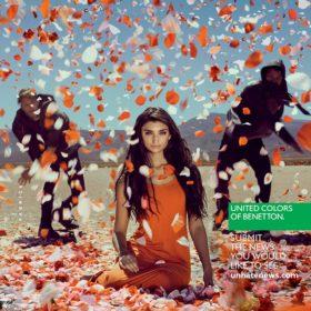 Η United Colors of Benetton στηρίζει τον αγώνα για την εξάλειψη της βίας κατά των γυναικών
