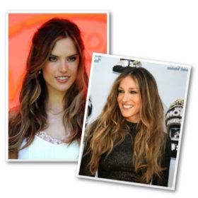 Ανταύγειες για καστανές: Οι 4 celebrities που πρέπει να αντιγράψετε
