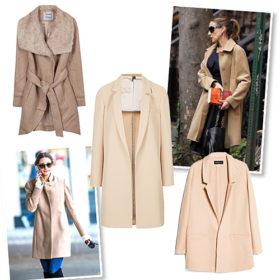Shopping guide: Αποκτήστε το ωραιότερο, κλασικό, μπεζ παλτό