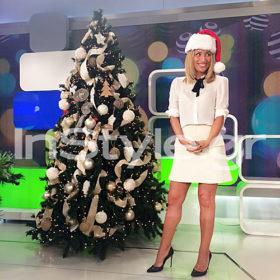 Pretty in white: Η Μαρία Ηλιάκη μας ενθουσίασε με total white chic σύνολο