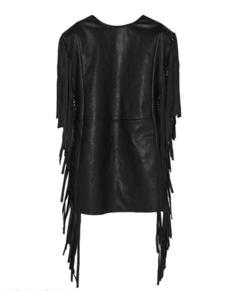 saint-laurent-fringed-leather-mini-dress
